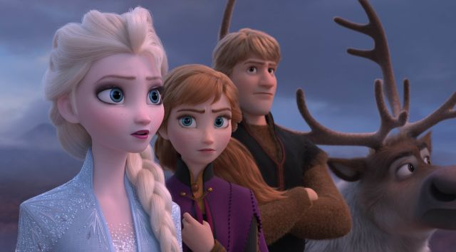 Still from FROZEN II Sing-Along