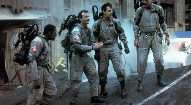 Still from GHOSTBUSTERS (1984) Movie Party