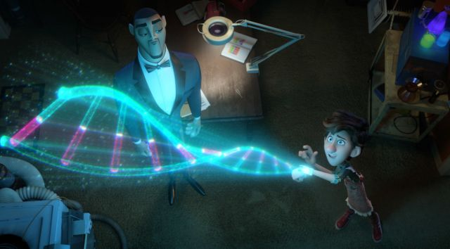 Still from 2D SPIES IN DISGUISE