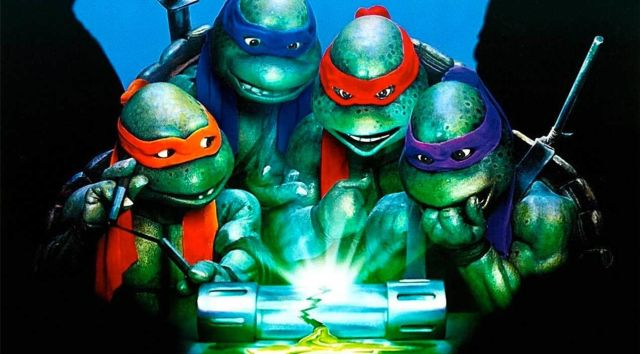 Still from TEENAGE MUTANT NINJA TURTLES II: THE SECRET OF THE OOZE with Live Q&A with Actor Kenn Scott