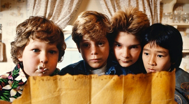 Still from THE GOONIES Movie Party