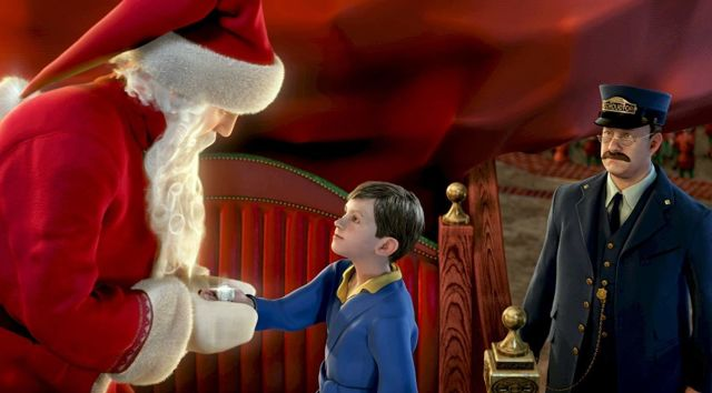 Still from THE POLAR EXPRESS Movie Party