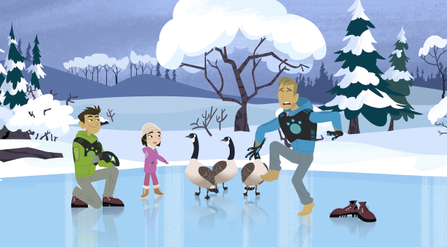 Still from WILD KRATTS WINTER