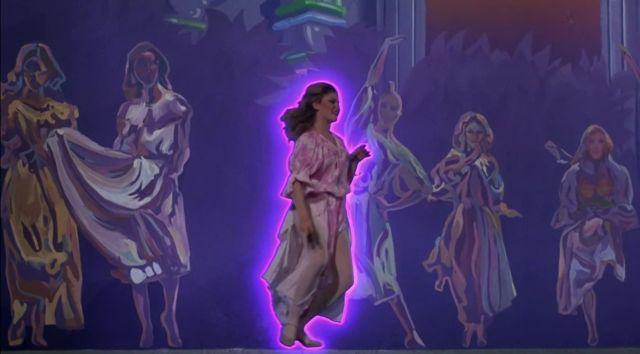 Still from XANADU The Glow-Along